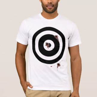 Bullseye Bullet Wounds (Dark Skin) T-Shirt
