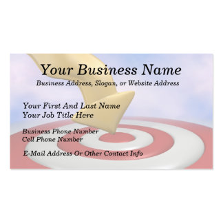 Bullseye! Double-Sided Standard Business Cards (Pack Of 100)