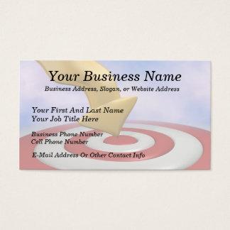 Bulls Eye Target Business Cards & Templates | Zazzle