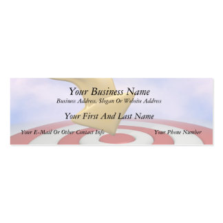 Bullseye! Double-Sided Mini Business Cards (Pack Of 20)