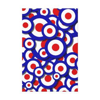 Bullseye Canvas Prints