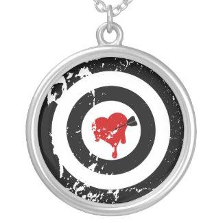 Bullseye for My Valentine Jewelry