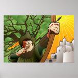 Bullseye for Robin Hood Poster