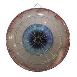BULLSEYE Funny, Freaky Blue Eyeball Dartboard