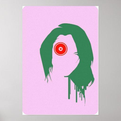 Bullseye Girl Poster