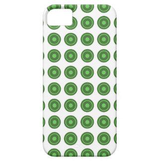 Bullseye Green iPhone Case
