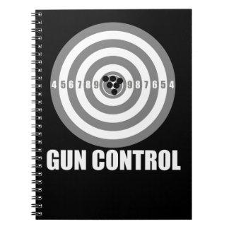 bullseye gun control notebook