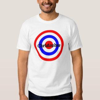 Bullseye Just Add Name Tee Shirt