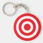 Bullseye Keychain