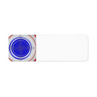 Bullseye Label