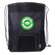 Bullseye Logo Drawstring Bag