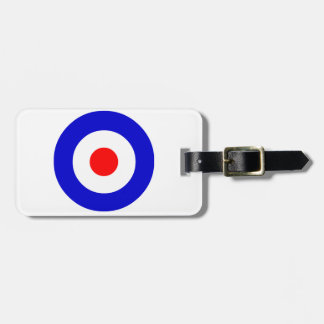 Bullseye Luggage Tag