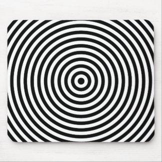 Bullseye Optical Illusion Mouse Pad