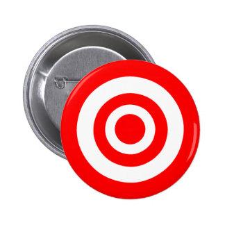 Bullseye Pinback Button