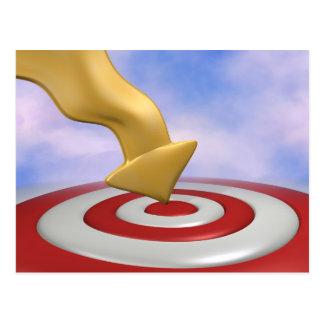 Bullseye! Postcard