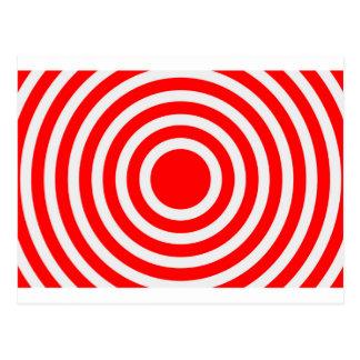 Bullseye Postcard