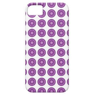 Bullseye Purple iPhone Case