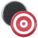 bullseye refrigerator magnets