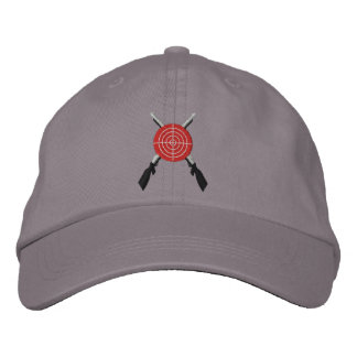Bullseye Target 2nd  Amendment Embroidered Hat
