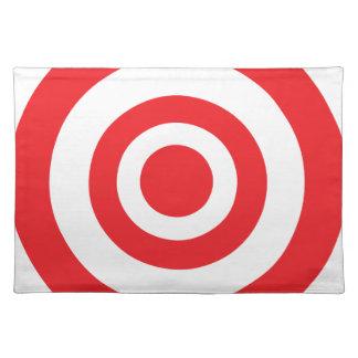 Bullseye Target Cloth Placemat