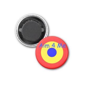Bullseye Target Magnet