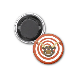Bullseye & Target Magnetic Disk 1 Inch Round Magnet