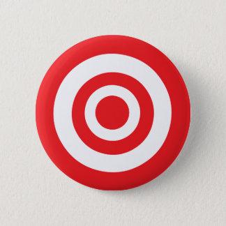 Bullseye Target Pinback Button