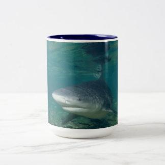 Bullshark Two-Tone Coffee Mug