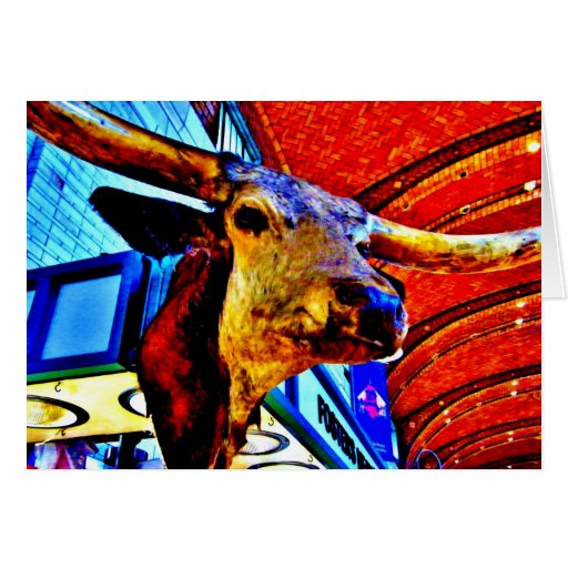 Bullspit Tarjeta De Felicitación