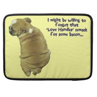 Bully! Adorable English Bulldog Puppy MacBook Pro Sleeve