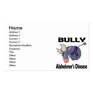 BULLy Alzheimers Disease Business Card