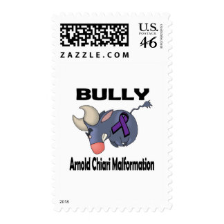 BULLy Arnold Chiari Malformation Postage Stamps