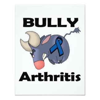 """BULLy Arthritis 4.25"""" X 5.5"""" Invitation Card"""