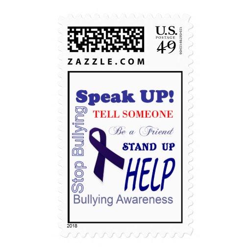 Bully Awareness Stamps  Anti Bullying