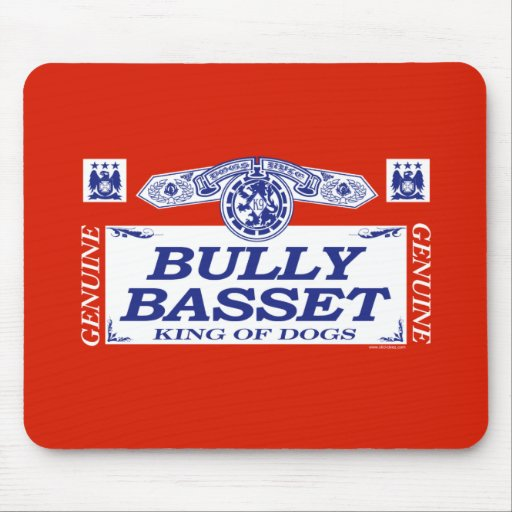 Bully Basset Mouse Pad