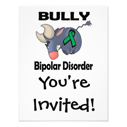 BULLy Bipolar Disorder Personalized Invitation