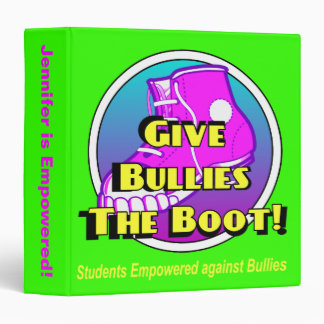 Bully Bootin Binder - Pick Your Own Color