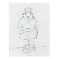 Bully Boy Postcard