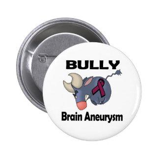 BULLy Brain Aneurysm Pinback Button
