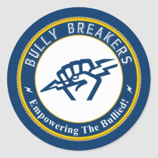 Bully Breaker Official Merchandise Classic Round Sticker