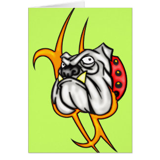 Bully Bulldog Card