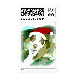 Bully Christmas Stamp