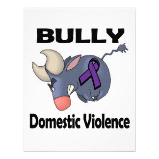 BULLy Domestic Violence Custom Invites