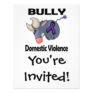 BULLy Domestic Violence Personalized Announcements