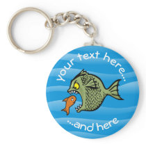 Bully Fish Keychain