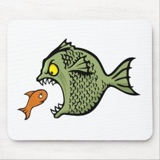 Bully fish mouse pad