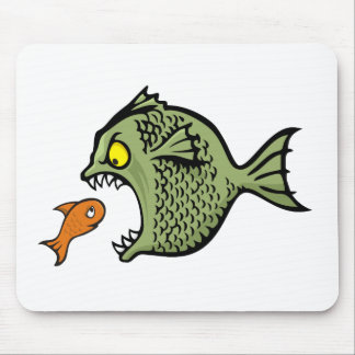 Bully fish mousepad