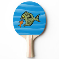 Bully fish Ping-Pong paddle