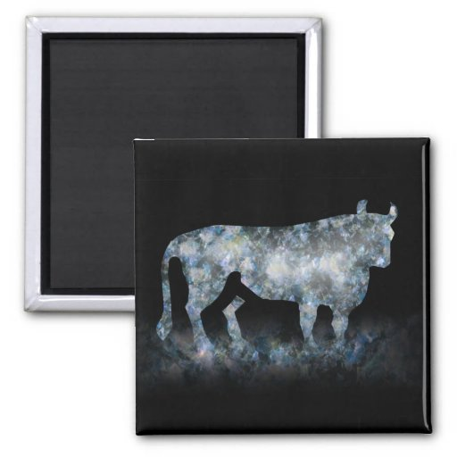 BULLY FOR YOU. 2 INCH SQUARE MAGNET