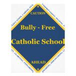 Bully - Free Catholic School Letterhead Design